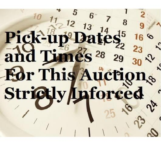 November 17th Warehouse Auction