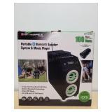 Sondpex Audio Portable Speaker System& Mus Player