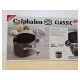 Calphalon Classic 2-1/2 Qt Sauce Pan & Cover