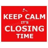 Item Closing