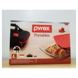Pyrex Portables 4 Pc