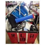 Bin of Damaged Sporting Goods II