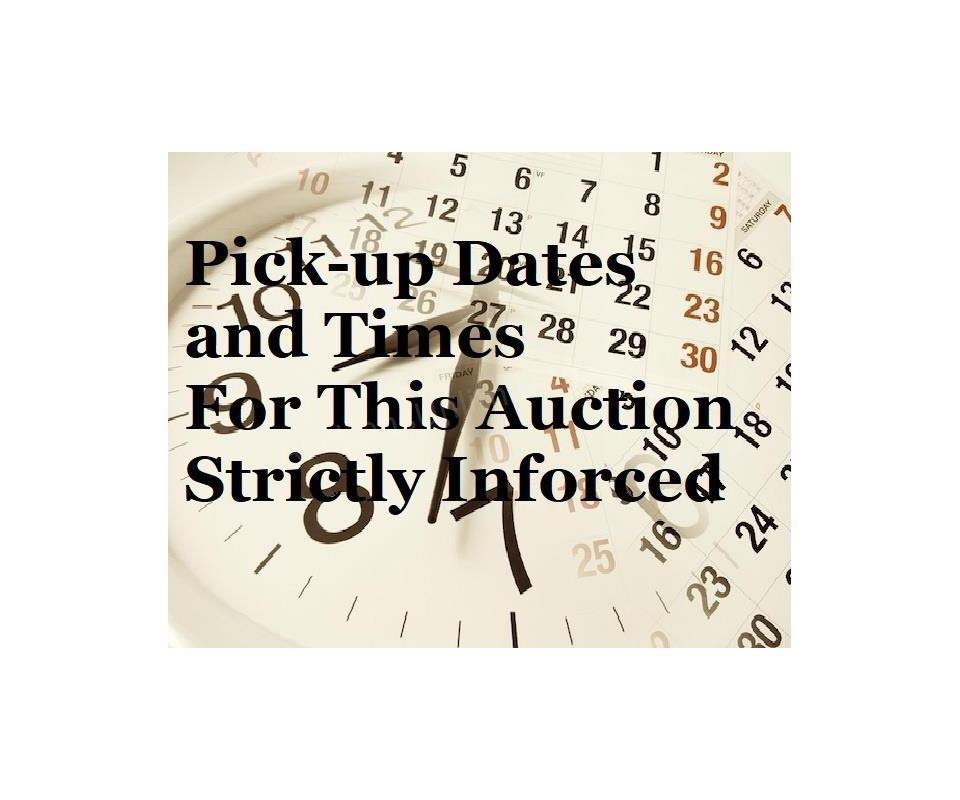 August 18 Warehouse Auction