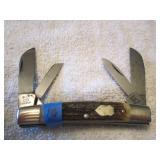 Bull Dog, Hand Made, SG, 4 Blade