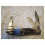 Queen 3 Blade Stockman