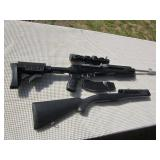 Ruger Mini-30, Auto, 7.62x39, SS, 2 Stocks, 2 Magazines