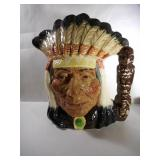 "Royal Doulton Toby Mug "" North American Indian """