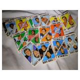 1971 Topps football game Cards