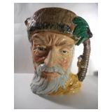 Large Royal Doulton Robinson Crusoe toby Mug