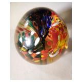Unique Handmade Glass Paperweight