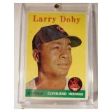 1958 Topps Larry Doby baseball card