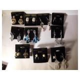 10 costume jewelry earrings