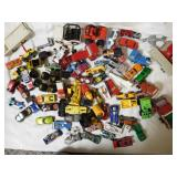 Large lot of different Die cast cars and trucks