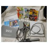 Wii gaming console lot including games & More
