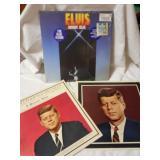 3 vintage record albums