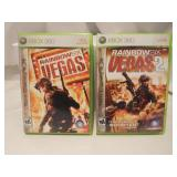 Two Xbox 360 Live games