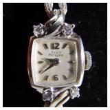14kt Girard Perregaux Diamond Wristwatch