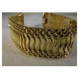 14kt Designer  Italian Link Bracelet