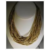 Vintage Carolee 16 Strand Pearl Necklace