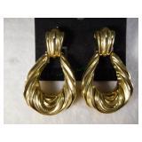 10kt Large Format Dangle Earrings