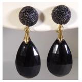 Vintage Trifari crystal Earrings