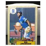 1987 Bo Jackson Topps Future Star Card #170