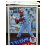 1985 Topps Kirby Puckett Rookie Card #536