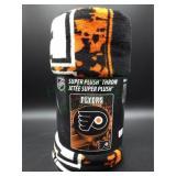 Brand New Super Plush Philadelphia Flyers Blanket