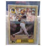 1987 Topps Barry Bonds Card #320