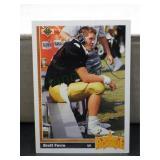 Brett Farve Rookie Card 1991 Upper Deck #13