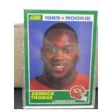 1990 Score Derrick Thomas Rookie Card #258