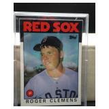 1986 Topps Roger Clemens Card #661