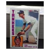 1984 Topps Don Mattingly Rookie Card #8