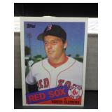 1985 Topps Roger Clemens Rookie Card #181