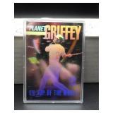 Ken Griffey Jr 1991 Superstar Hologram Card
