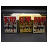 3 Card Set 1992 Skybox USA Barcelona Team Cards