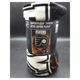 NIP Philadelphia Flyers Super Plush Throw Blanket