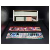 Box full Donruss Baseball Cards