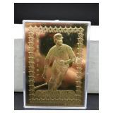23karat Gold Ken Griffey Jr Card