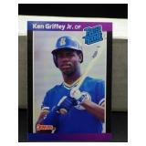 1989 Donruss Ken Griffey Jr Rookie Card #33
