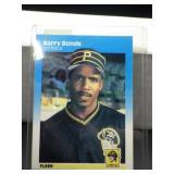 1987 Fleer Barry Bonds Card #604