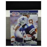 1990 NFL Pro Set Emmitt Smith Rookie Card #685