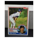 1983 Topps Wade Boggs Rookie Card #498