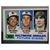 1982 Topps Cal Ripken Rookie Card #547