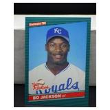 1986 Donruss Bo Jackson Rookie Card #38