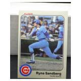 1983 Fleer Ryne Sandberg Rookie Card #507