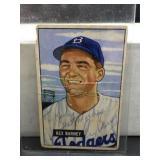 Vintage 1951 Bowman Rex Barney Card
