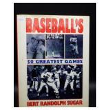 Baseball 50 Greatest Games Hard Back Book