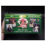 Factory Sealed 1991 Score Baseball Collector Set