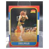 1986 Fleer Chris Mullin Card #77